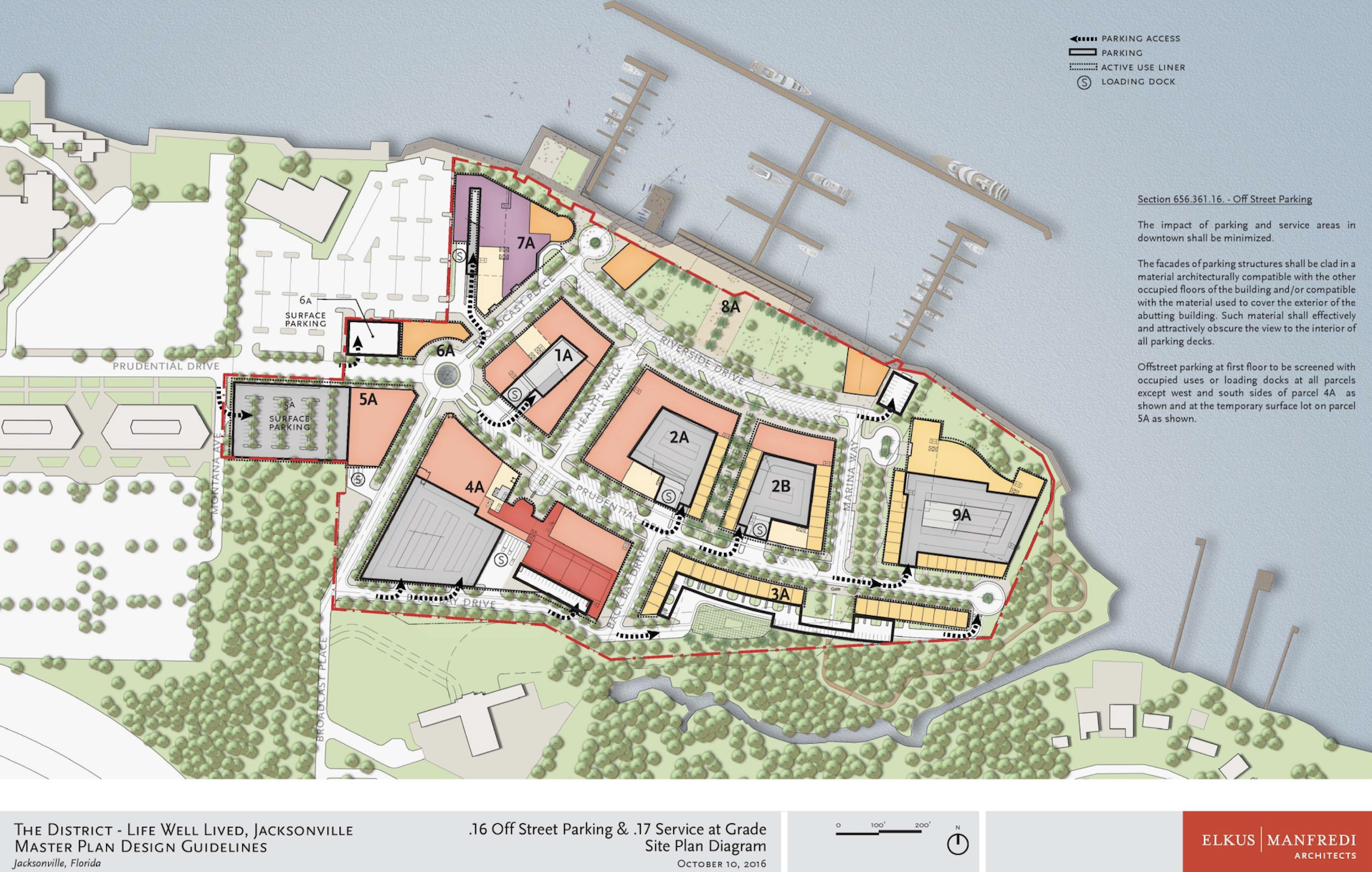 This Map Shows The District S Master Plan Ac Hotel By Marriott Will Be Built On Site 7a