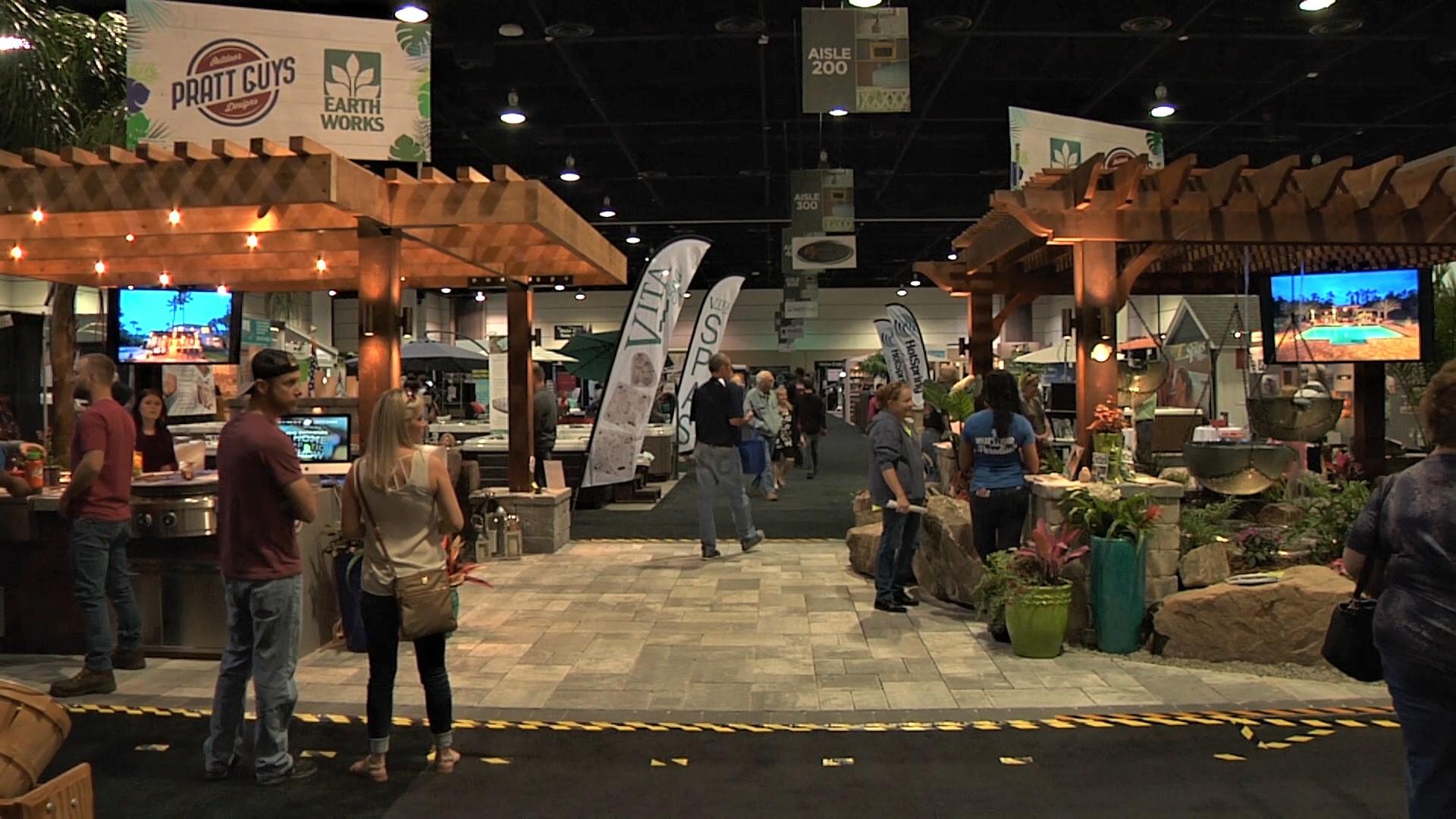 Jacksonville businessman celebrates 50 years at home for Jacksonville home and patio show