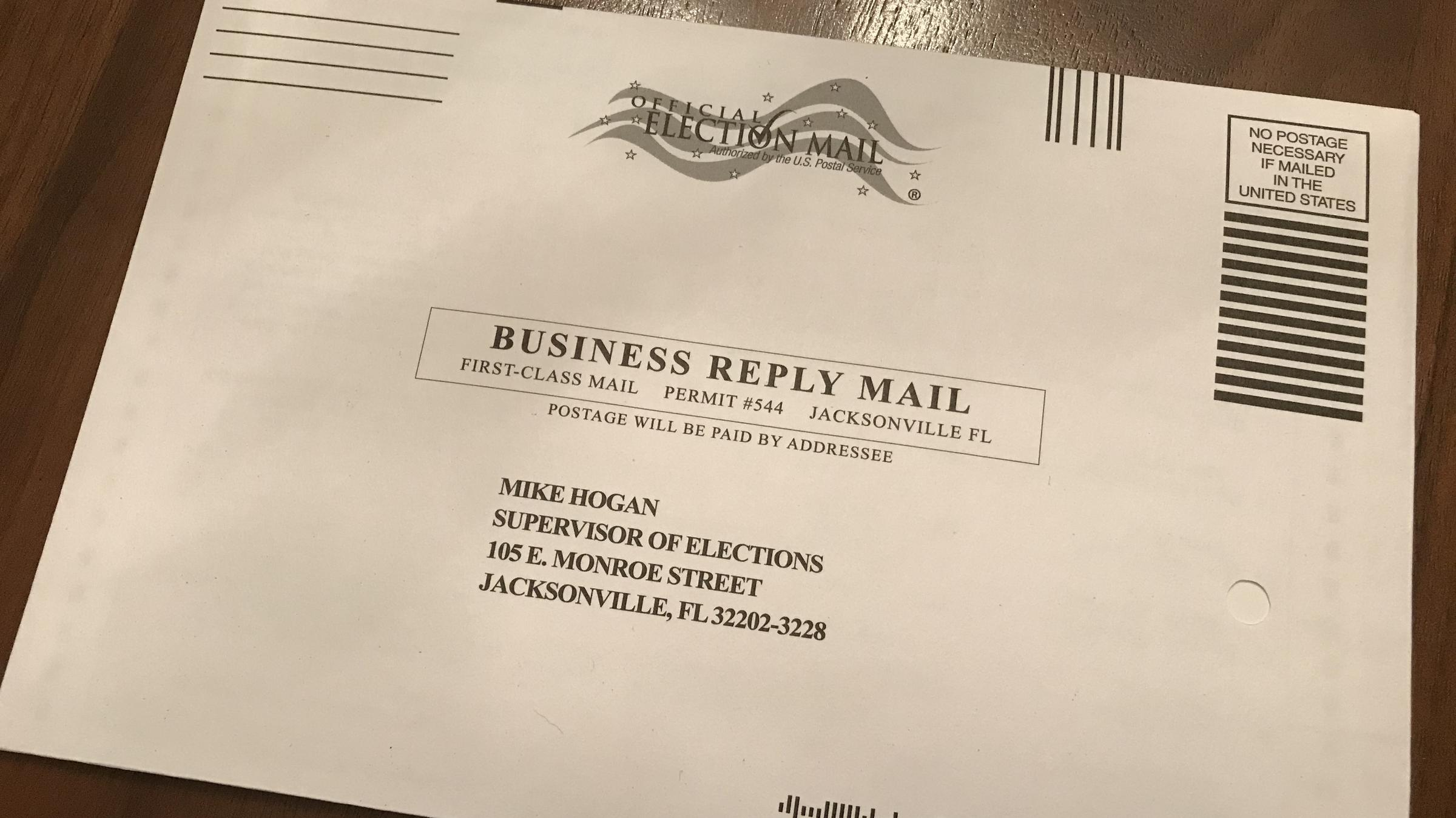 Sixth image of Mailed Sample Ballots Delayed Temporarily In Duval County with As Recounts Loom In Florida Elections, Voters Worry Their ...
