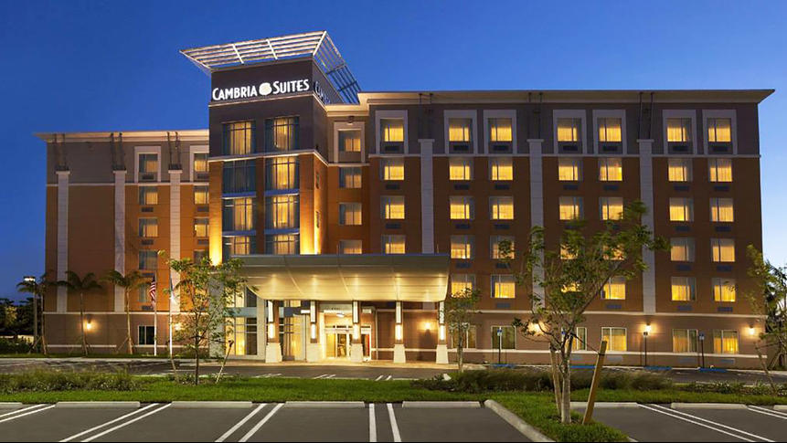 The Cambria Hotel At Miami Airport Is Pictured
