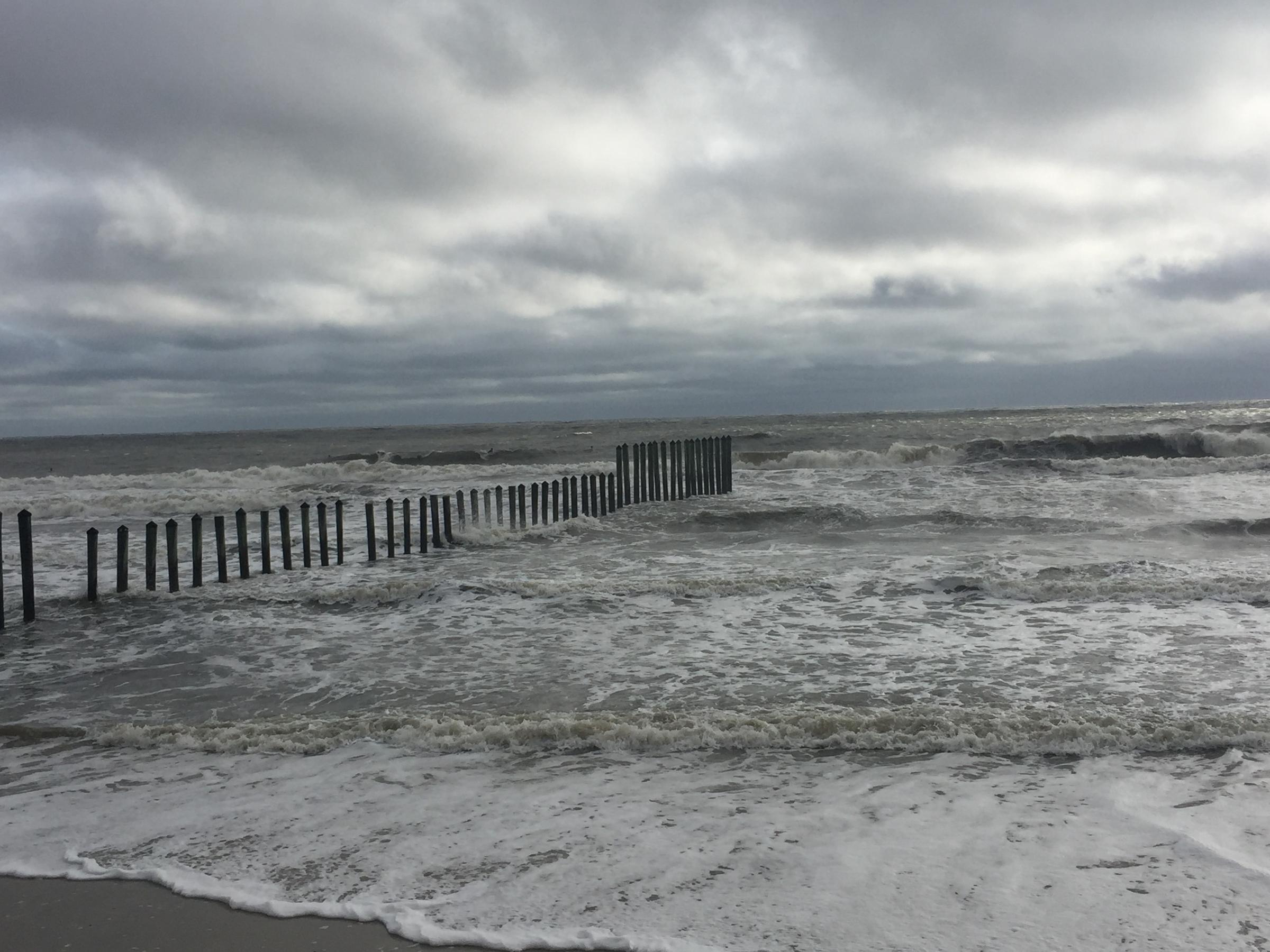 jacksonville surfers ignore storm warnings in favor of major swells wjct news. Black Bedroom Furniture Sets. Home Design Ideas