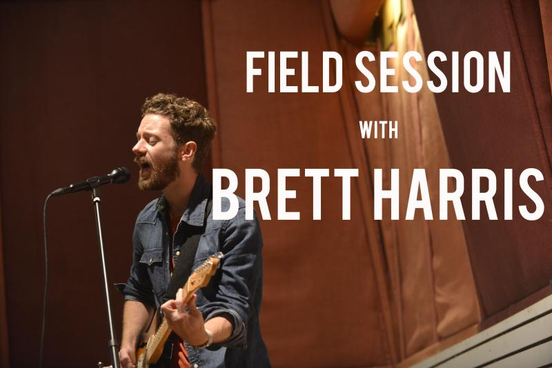 Songwriter Brett Harris performed three songs off his new album during a Field Session at Capricorn Studio in Macon.