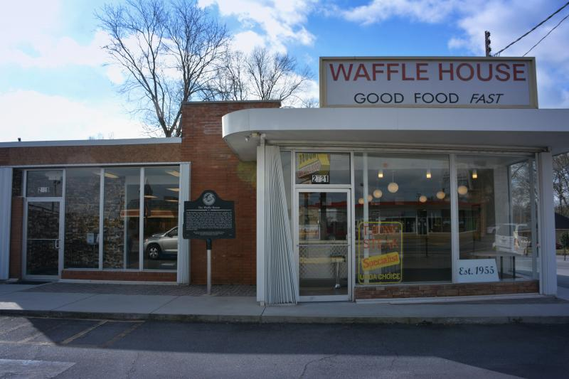 The original Waffle House restaurant in Avondale Estates, Georgia. Now, it's a museum.