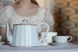 Travel to the 19th century with Tea at Mrs. Davenport's.
