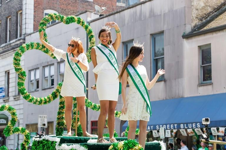 The St. Patrick's Day parade is the first of many green festivities this weekend.