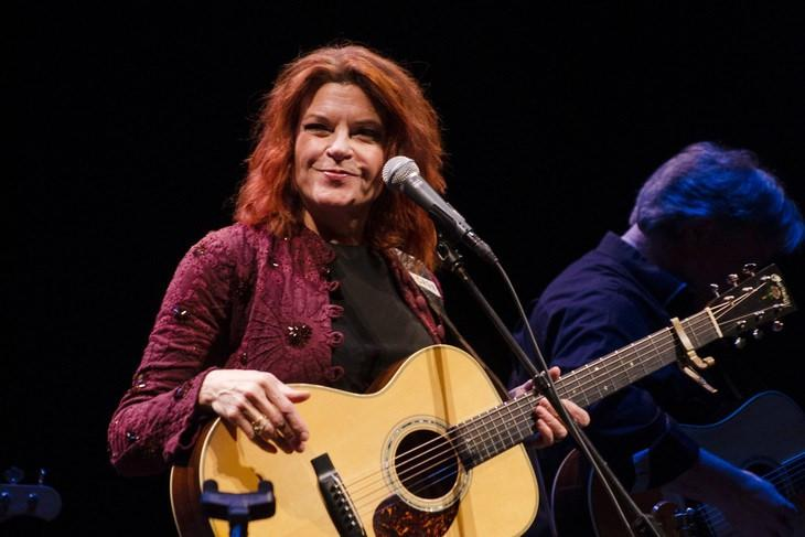 Rosanne Cash at a performance at Penn State.
