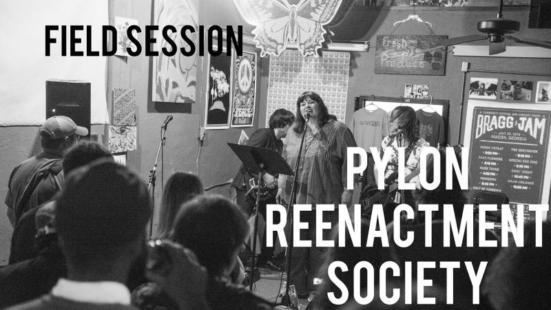 Pylon Reenactment Society at Fresh Produce Records in Macon, Ga.
