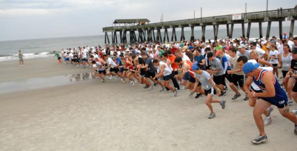 The Tybee Turtle Trot starts at the pier on Saturday.