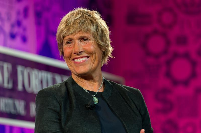 Diana Nyad at the Fortune The Most Powerful Women 2013 event.