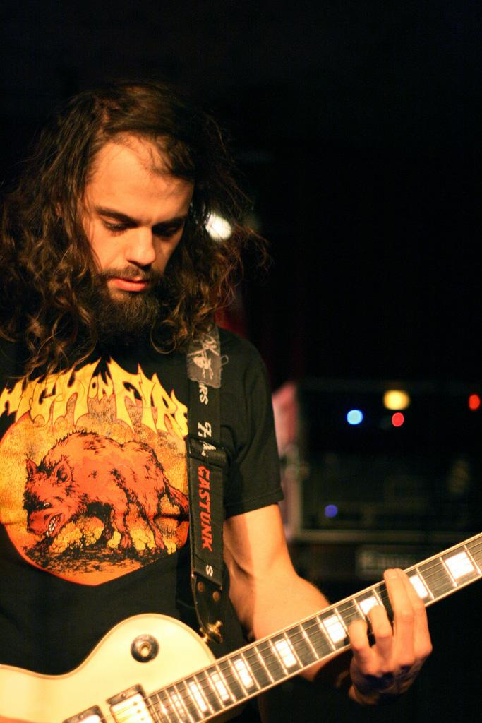 John Dyer Baizley of the Savannah-based metal band Baroness