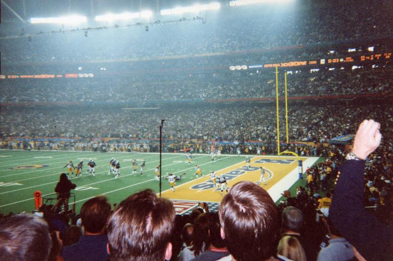 Atlanta last hosted the Super Bowl in 2000 when the Rams played the Titans at the Georgia Dome.