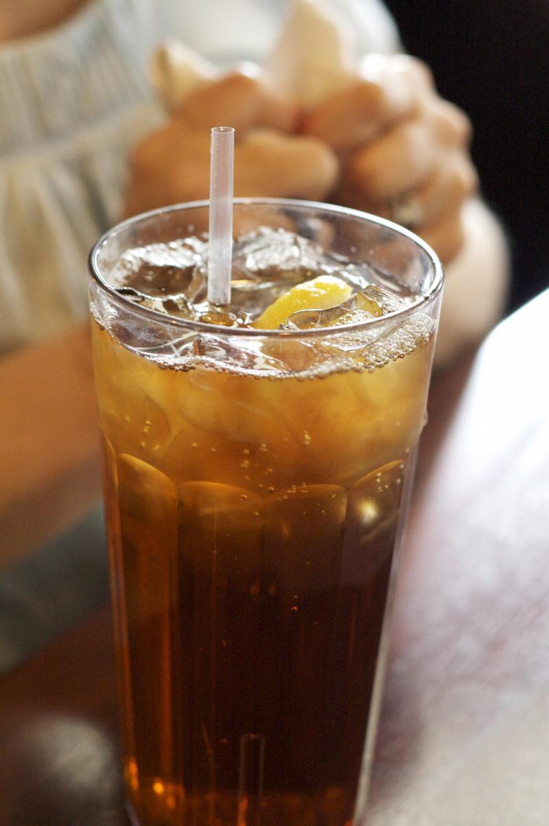 A glass of Southern sweet tea
