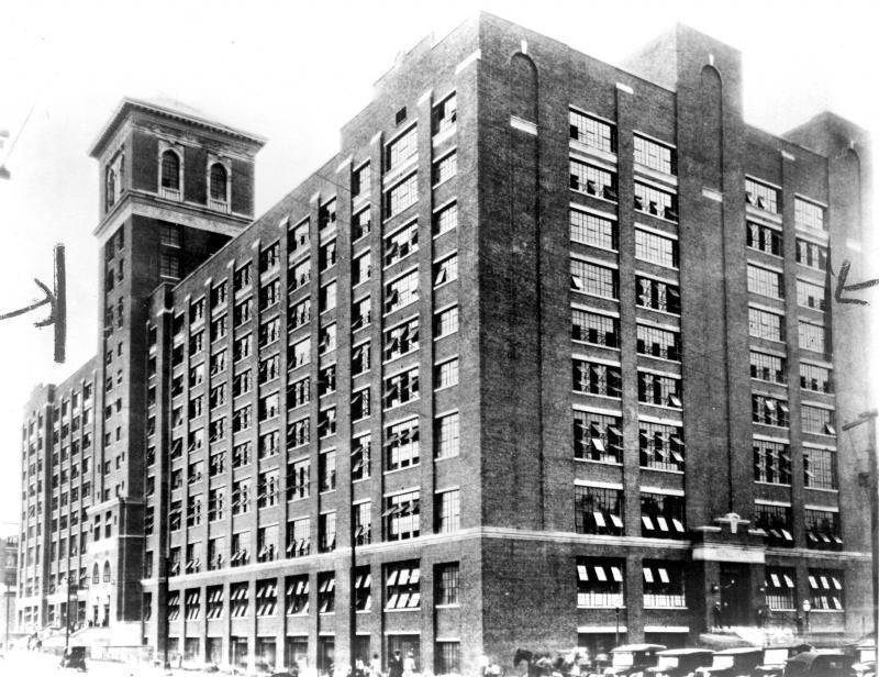 Sears, Roebuck and Company on Ponce de Leon Avenue, Atlanta, Georgia, ca. 1926.