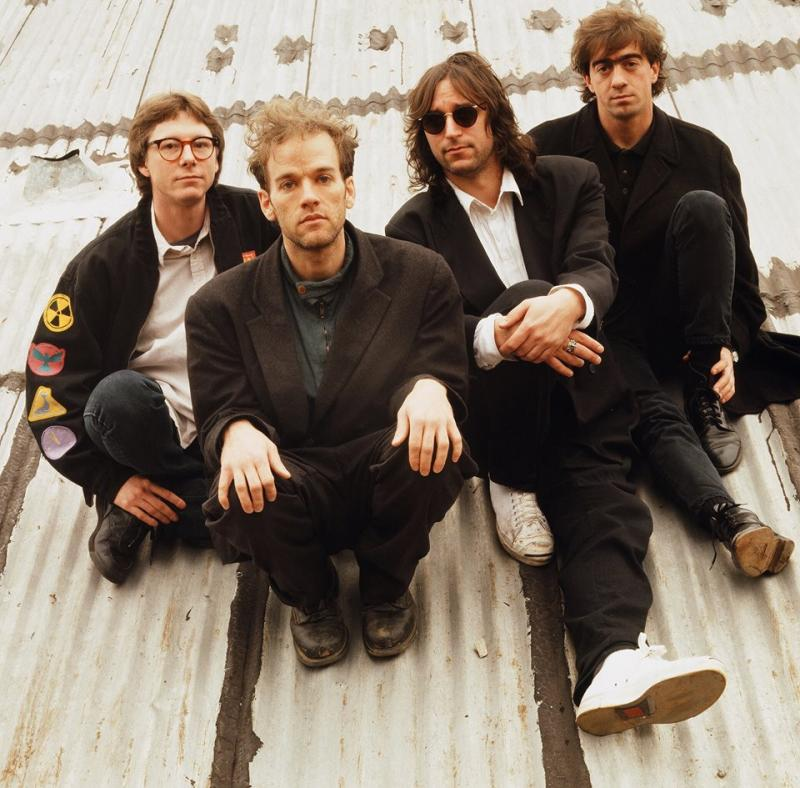Members of the former band R.E.M., which began in Athens, Georgia.