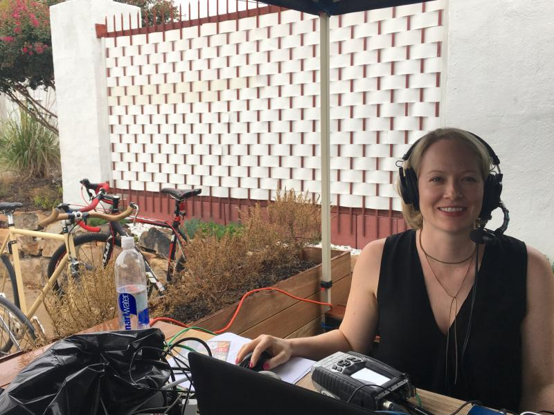 Rickey Bevington hosts All Things Considered live from Edgewood Avenue