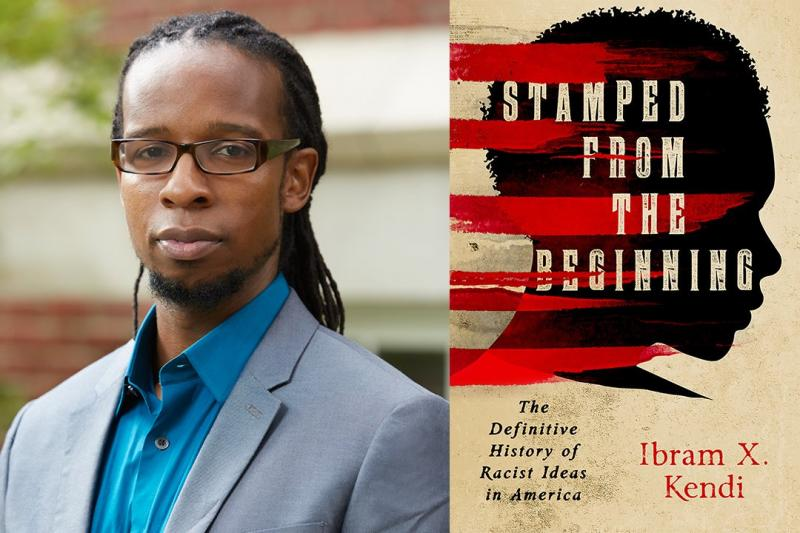 """Ibram Kendi, author of the book, """"Stamped From the Beginning: The Definitive History of Racist Ideas in America."""""""