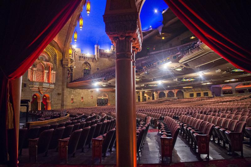 The Fox Theatre's auditorium in Atlanta. The theatre opened its doors in 1929.