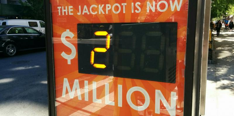 The Powerball Lottery in 2015.