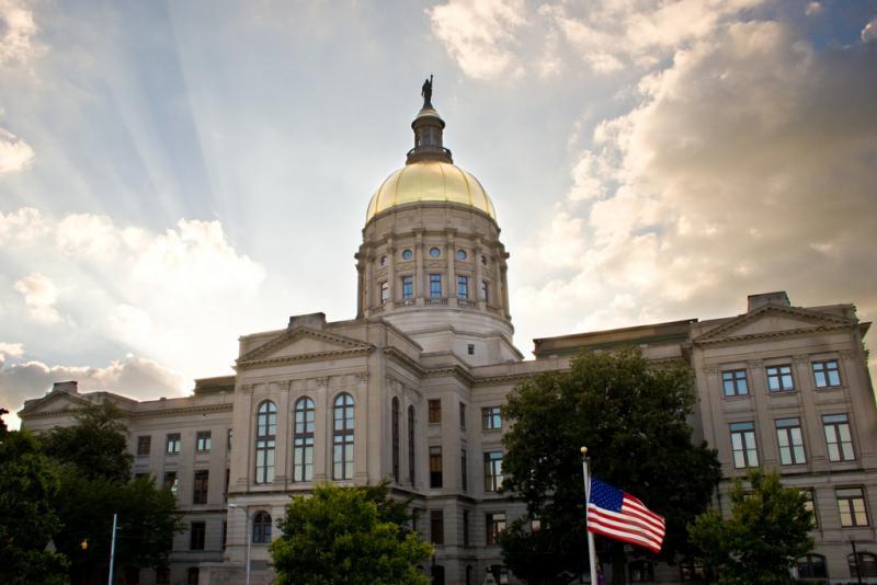 Georgia State Capitol in Atlanta, Georgia.