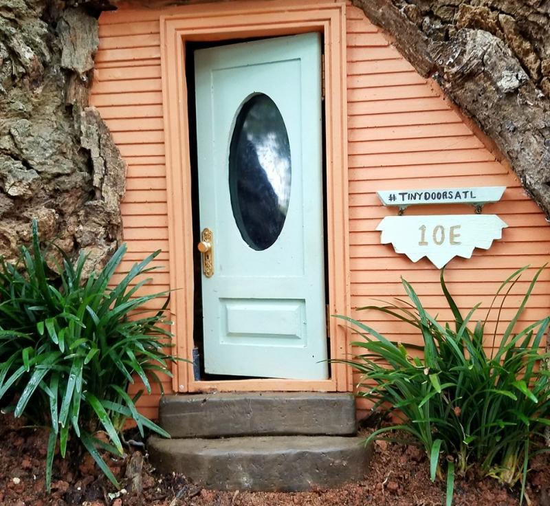 Tiny Door #10E in Grant Park