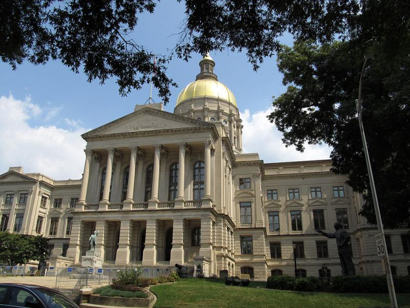 Georgia State Capitol in Atlanta, Georgia.