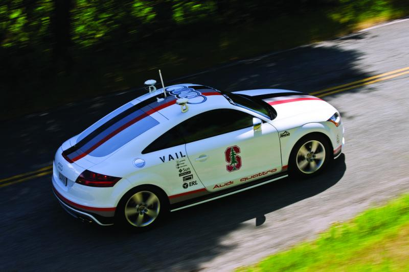 The Autonomous Audi TTS Pikes Peak