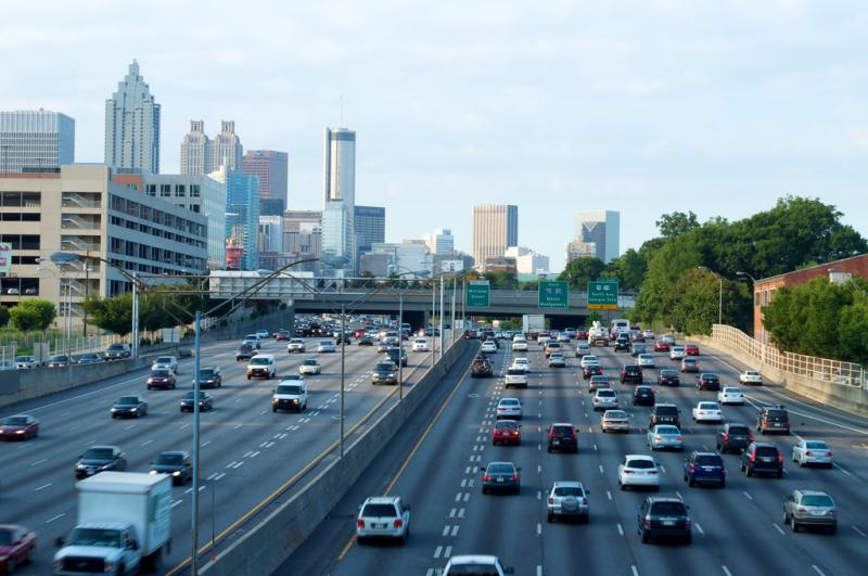 Downtown Atlanta - Interstate 85/75