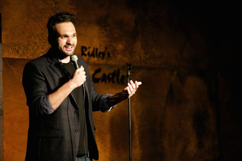 Comedian Nemr came to the U.S. Lebanon, where he is known as Lebanon's King of Comedy.
