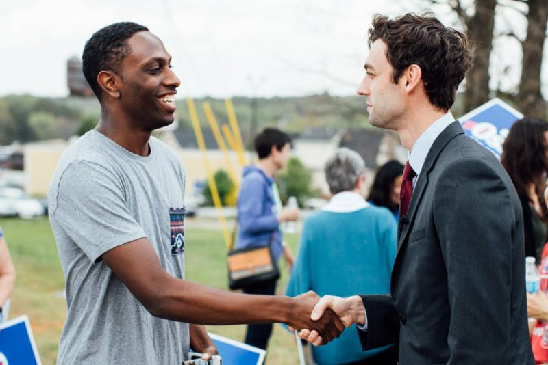 Jon Ossoff is polling well in Georgia's Sixth District.