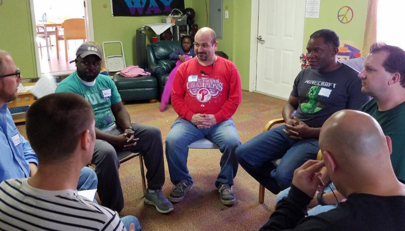 Men Stopping Violence Meeting at Unitarian Universalist Metro Atlanta North