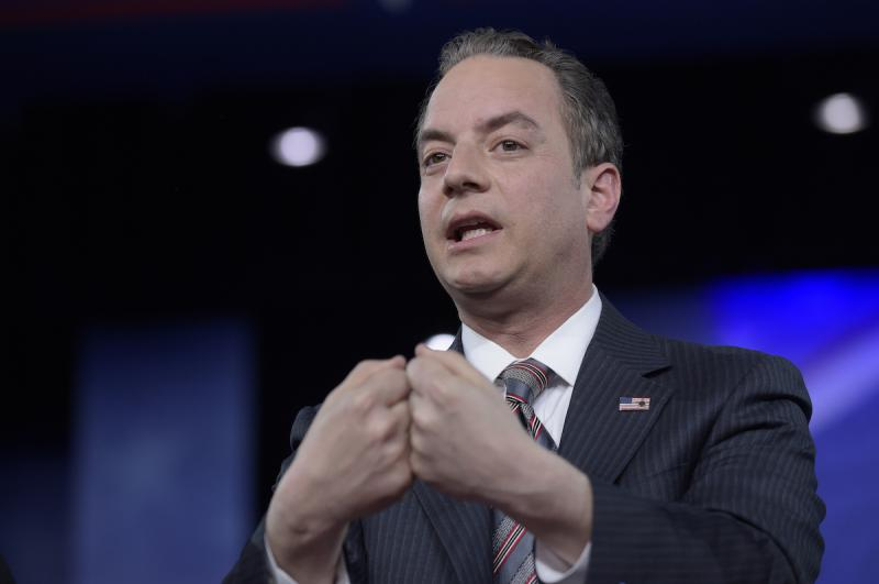 White House Chief of Staff Reince Priebus speaks at the Conservative Political Action Conference (CPAC) in Oxon Hill, Md., Thursday, Feb. 23, 2017.