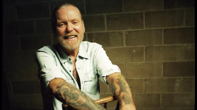 Singer and songwriter Gregg Allman, who died this month at the age of 69.
