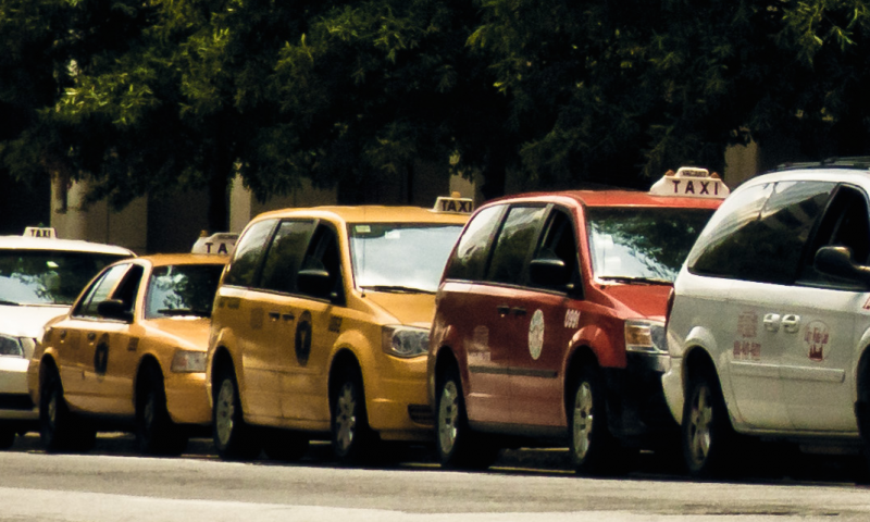 On Monday, the Supreme Court of Georgia told five city taxicab drivers they aren't entitled to compensation for losing their exclusive rights to pick up passengers.