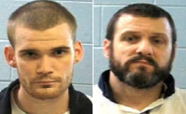 Inmate Ricky Dubose, left, and Donnie Russell Rowe. Authorities say Dubose and Rowe escaped after killing two prison guards during a bus transport in Georgia. Both are being sought by law enforcement.
