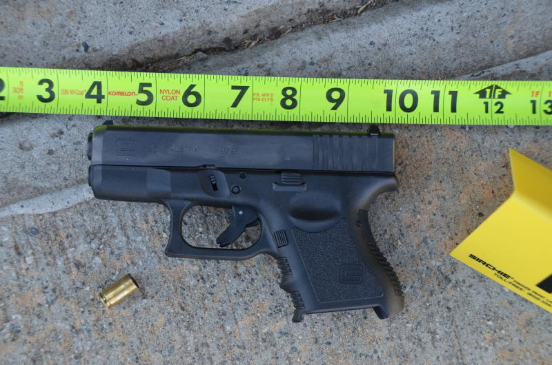 This Sunday, March 29, 2015, file photo provided by the Jefferson Police Department shows a gun involved in the accidental shooting of a three-year-old in Jefferson, Georgia.