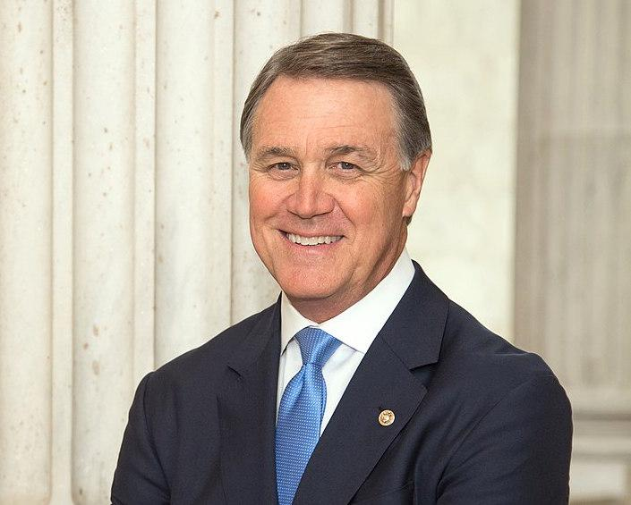 Sen. David Perdue appeared on a panel today to discuss American foreign policy.