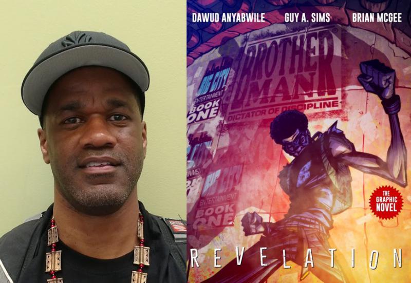 Atlanta-based comic book artist Dawud Anyabwile, co-creator of the Brotherman series.