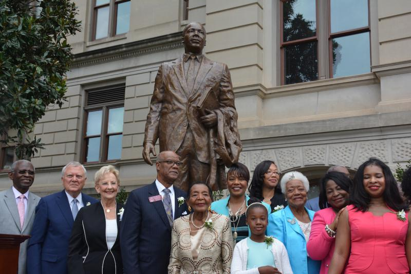 On Monday, August 28. 2017, a statue honoring Martin Luther King Jr. was unveiled on the grounds of the Georgia Capitol.