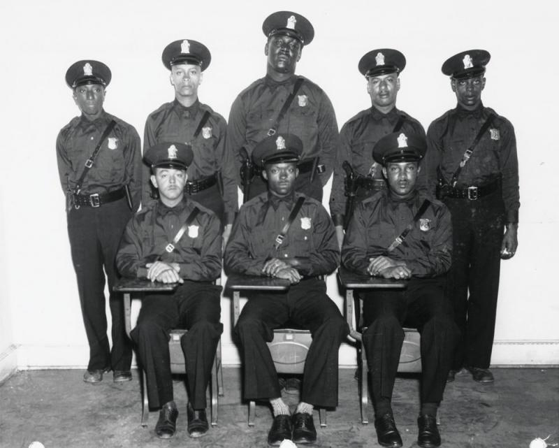 In 1948, eight African-American men joined the Atlanta police force. They inspired Thomas Mullen's latest novel, Lightning Men.