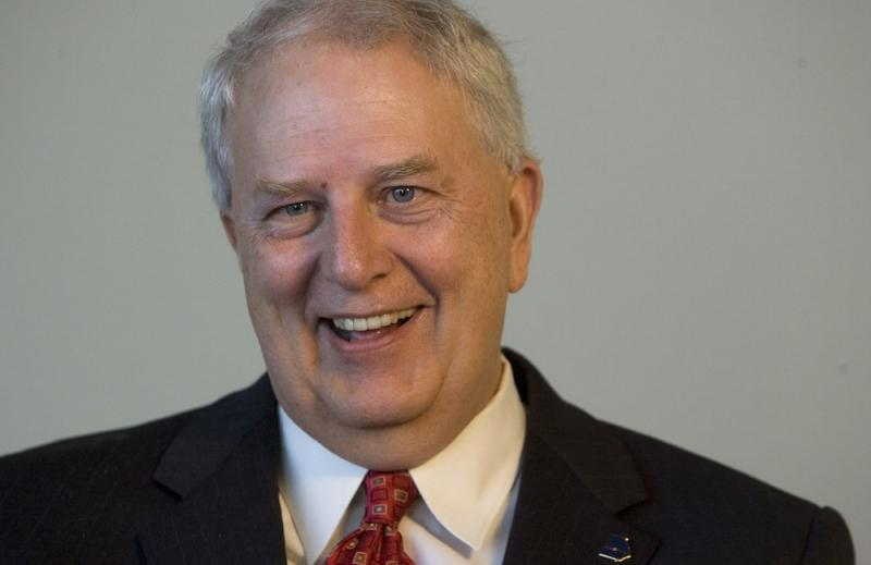 Former Georgia governor Roy Barnes is pictured during an AP interview Wednesday, Sept. 1, 2010, in Atlanta.