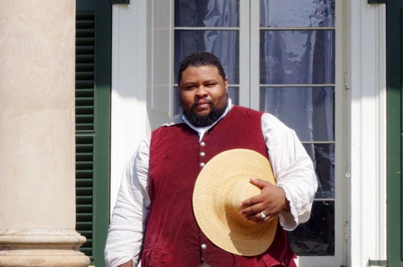 Culinary historian Michael Twitty, author of The Cooking Gene.