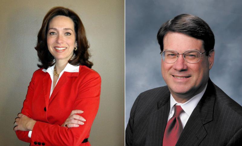 Mayor Teresa Tomlinson of Columbus; Mayor Rusty Paul of Sandy Springs