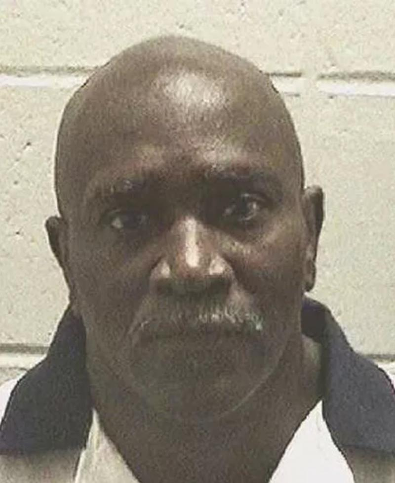 This undated photo provided by Georgia Department of Corrections shows Keith Leroy Tharpe. Georgia is preparing to put to death Tharpe, who killed his sister-in-law 27 years ago.