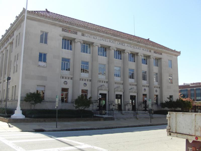 United States Post Office and Court House in Columbus, Georgia.