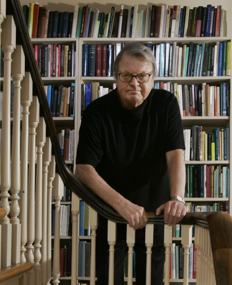 Author Garry Wills is photographed in his Evanston, Ill., home Friday, April 6, 2007