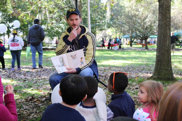 Kids can meet authors, get new books and more at the Savannah Children's Book Festival.