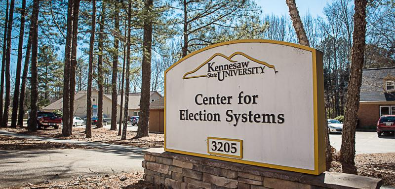 A central election server at KSU was erased over the summer.