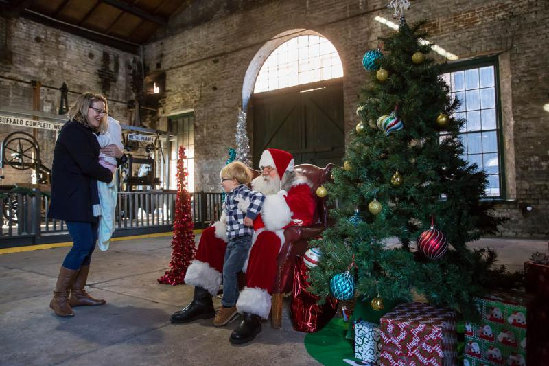 Kids can meet Santa at the Georgia State Railroad Museum's Santa Train this weekend.