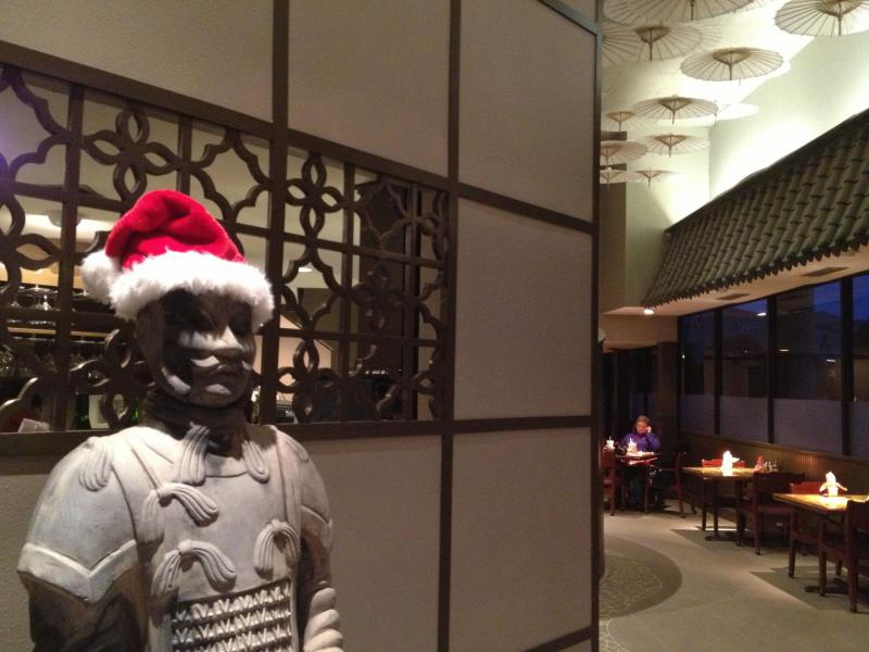 Hunan Garden Restaurant, a Chinese restaurant in Texas. Chinese restaurants are a popular destination for people who don't celebrate Christmas.