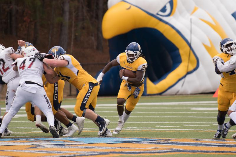 Reinhardt defeated Southern Oregon to earn a spot in the NAIA Championsip Game